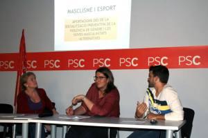 """Debat """"Masclisme i Esport"""" d'Homes Igualitaris Socialistes"""